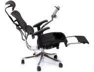 Кресло компьютерное ERGOHUMAN PLUS (сетка, с подставкой для ног).