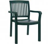 Кресло МИСТРАЛ (Mistral) от PAPATYA с полыми (трубчатыми) ножками. Нагрузка до 200 кг.